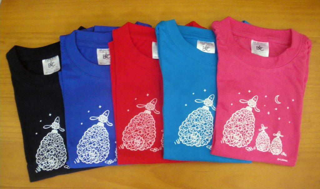 """T-shirts """"Les moutons et la lune"""""""